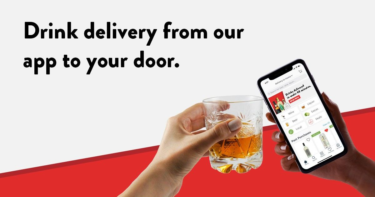 Drizly – On-demand alcohol delivery